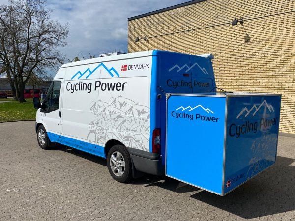 Cycling power bildekoration