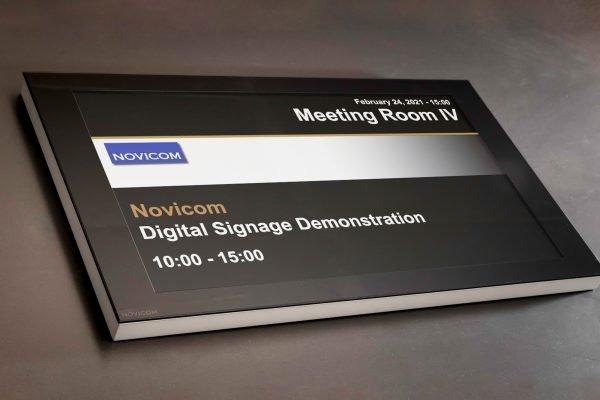 Elektronisk skiltning Noviflat22